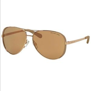 NWT Michael Kors Chelsea in Rose Gold sunglasses